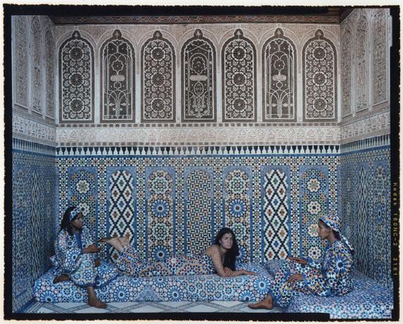Harem #15, 2009 © Lalla Essaydi