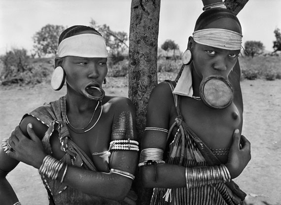 The Mursi and the Surma women are the last women in the world to wear lip plates. 