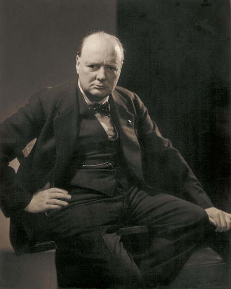 EDWARD STEICHENWinston Churchill, 1932Courtesy Condé Nast Archive© 1932 Condé Nast Publications