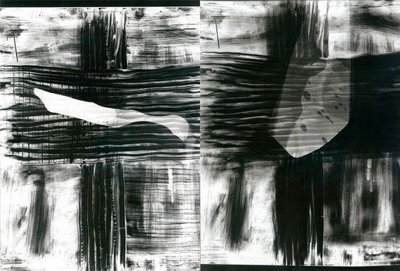 Eliška Bartek: Ohne Titel, 2011, aus der Serie: Durchbruch zum schwarzen Nichts