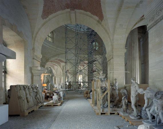 © ROBERT POLIDORI, MUSÉE DE MOULAGES GRANDES ÉCURIES – R.D.C. CHATEAU DE VERSAILLES, 2007