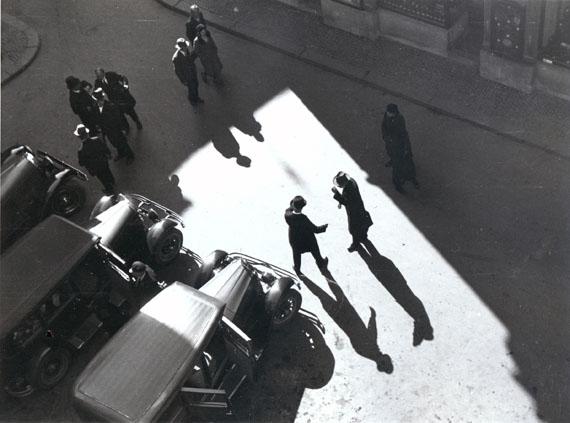 Anton Stankowski: Begrüßung, Zürich, Rüdenplatz, 1932© Stankowski-Stiftung