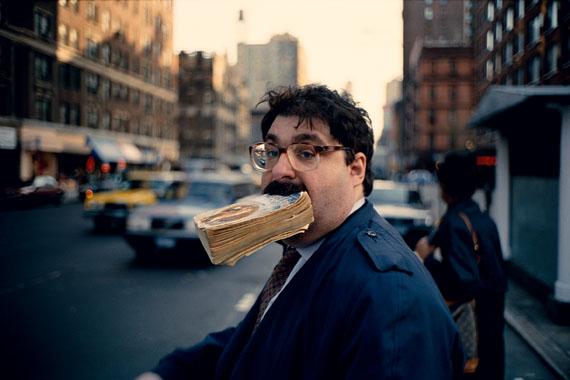 Jeff Mermelstein: Sidewalk, 1995© Jeff Mermelstein / Leica Camera AG