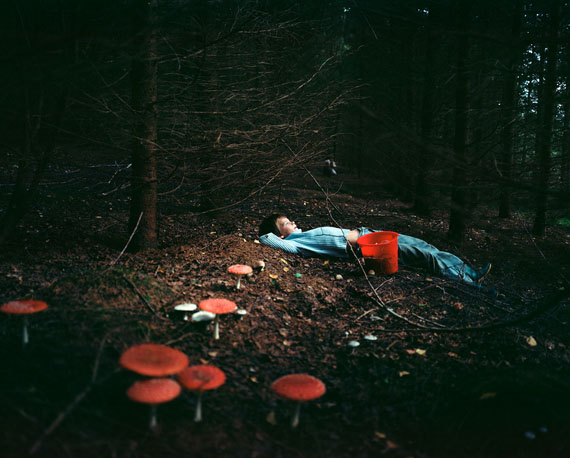 "© Iveta Vaivode . Aus der Serie ""Somewhere On Disappearing Path"" . 2012–2013"