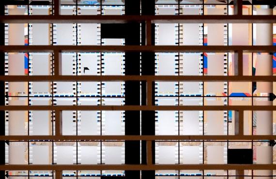 Fenster Restaurant Denia, Spanien