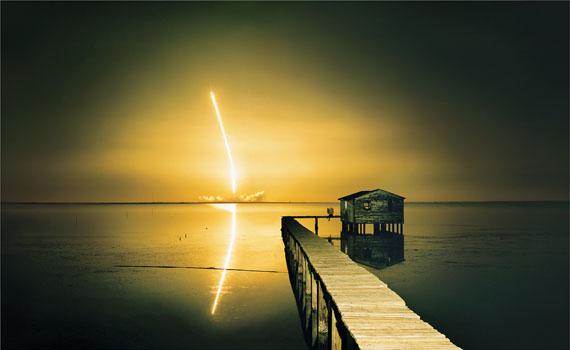 Alfred Seiland: Ulf Merbold, Titusville, Florida, 1997