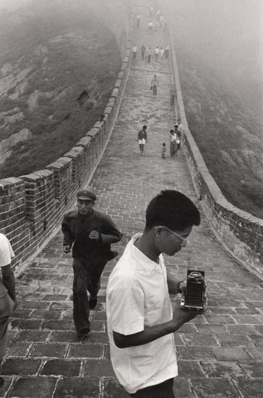 CHINA. Hebei Province. The 'Great Wall' 1971 © Marc Riboud Magnum Photos