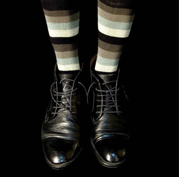 René Peña, Black Shoes, 2007. Archival pigment print, 61 x 80 cm © René Peña, courtesy Robert Mann Gallery, New York
