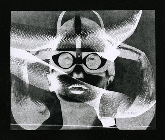 Thomas Barrow, Defender, 1968. Unique vintage gelatin silver print, 8 x 10 inches. Courtesy Joseph Bellows Gallery, La Jolla, CA.