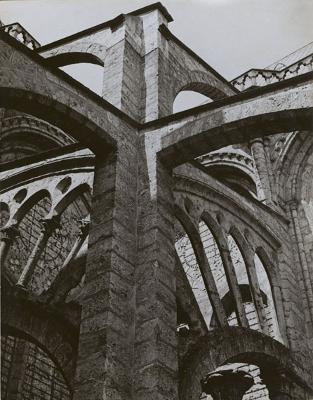 Charles SheelerChartres - Flying Buttresses at the Crossing, 1929Courtesy of Edwynn Houk Gallery, New York