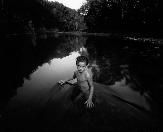 The Last Time Emmett Modeled Nude, 1987© Sally Mann, Courtesy Edwynn Houkk Gallery