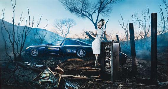 David LaChapelleExposure of Luxury, 2009Chromogenic printEdition of 724 x 45 in.Est. 28,000–33,000 USD