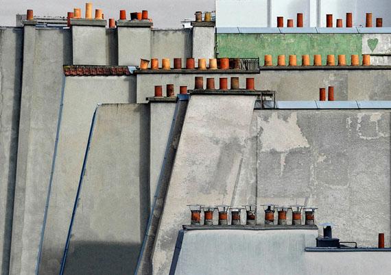 Michael Wolf: Paris Rooftops No.4, 2014Size I: 102cm x 144cm - Edition of 9Size II: 122cm x 173cm - Edition of 9