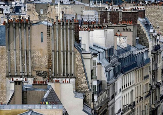 Michael Wolf: Paris Rooftops No.8, 2014Size I: 102cm x 144cm - Edition of 9Size II: 122cm x 173cm - Edition of 9
