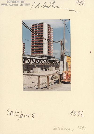 Paul Albert Leitner: Karteikarte 1996