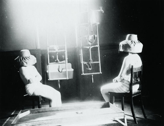 General (whole body) phototherapy on child patients wearing masks to protect their eyesFinsen Medical Light Institute, 1920-1930