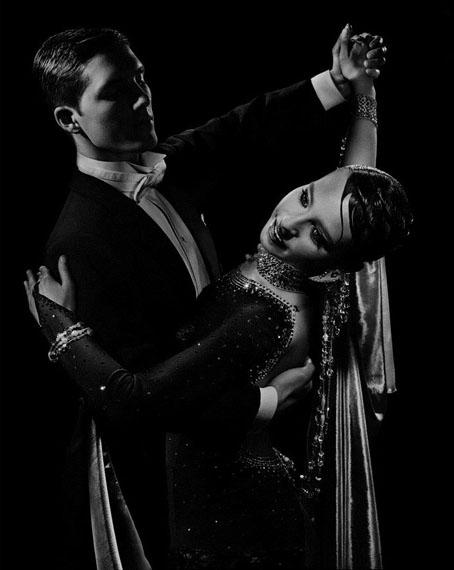 Ballroom Dancers #1, 2008 by Valérie BelinCourtesy of Edwynn Houk Gallery, New York