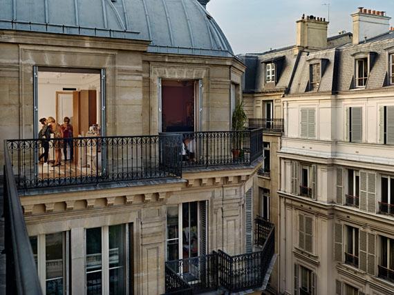 Gail Albert-Halaban: Quai Anatole, Paris, 7e, le 26 septembre, 2013