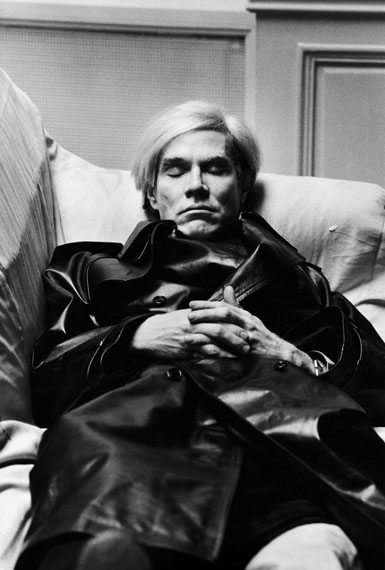Helmut Newton: Andy Warhol, Paris 1974