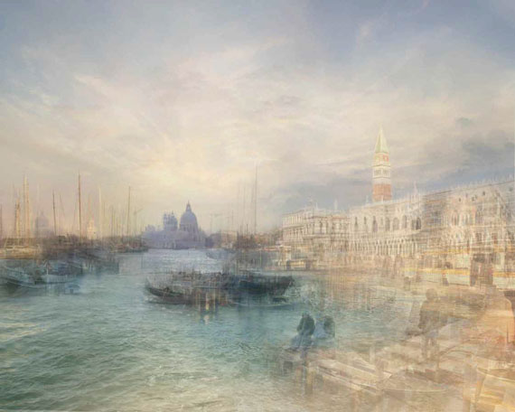 Hiroyuki Masuyama: J.M.W. Turner, Shipping off the Riva degli Schiavoni, near the Ponte dell' Arsenale, 1840 / 2010, LED lightbox, 24.3 x 30.6 x 4 cm