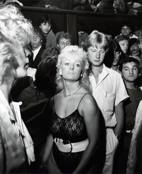 """André Gelpke: Aus der Serie """"Gesellschaft"""", Essen, 1985"""