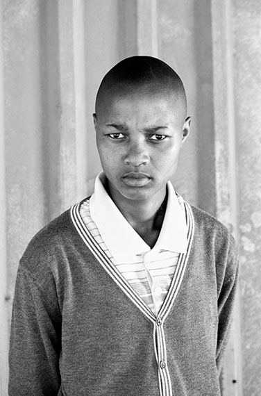 Zanele Muholi, Lumka Stemela, Nyanga East, Cape Town, 2011, 2011. Gelatin silver photograph, 34 x 24 in. (86.5 x 60.5 cm). © Zanele Muholi. Courtesy of Stevenson, Cape Town/Johannesburg and Yancey Richardson, New York