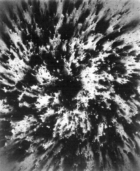GOTTFRIED JÄGER: Fotogenische Landschaft 1966-9-62, 1966Silbergelatine-Barytpapier60 x 49,6 cm, Unikat
