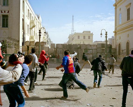 Kairo . 2. Jahrestag der ägyptischen Revolution, Kairo, 2013 © Marc Beckmann