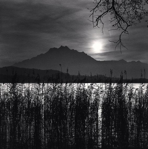 Michael Kenna: Mt. Pilatus, Lake Lucerne, Switzerland. 1998© Michael Kenna/ Courtesy of Bernheimer Fine Art