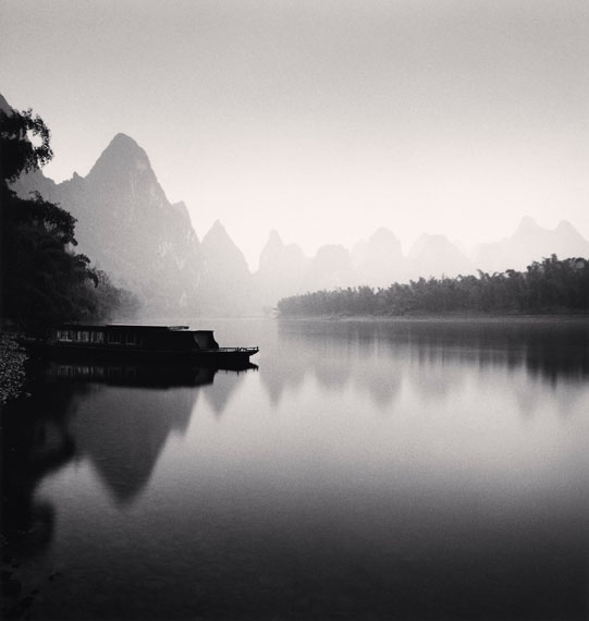 Michael Kenna: Lijiang River Study 4 Guilin China, 2006