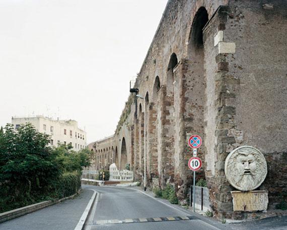 "Hans Christian Schink: ""Via Casilina Vecchia (1)"""
