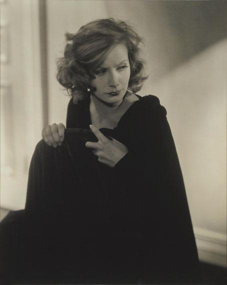 Edward Steichen: Greta Garbo, Hollywood, 1928© Ausstellung Galerie Clairefontaine