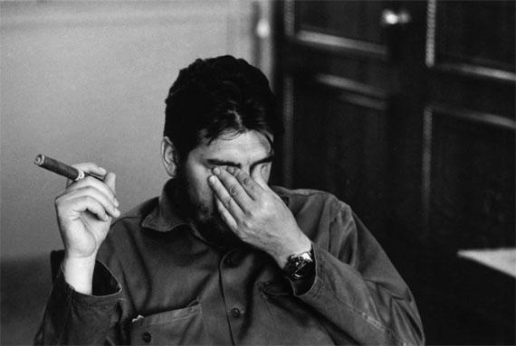 René BurriErnesto (Che) Guevara, Cuba, 1963Gelatin silver print on baryt paper30 x 40 cm© René Burri/Magnum Photos