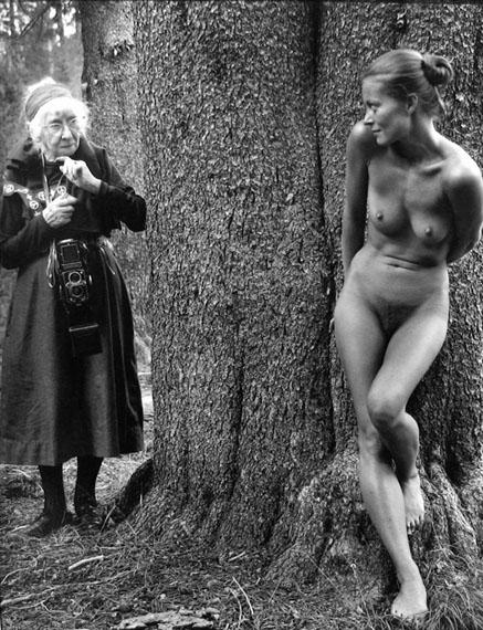 Judy Dater Imogen Cunningham and Twinka at Yosemite, California, 1974Gelatin silver print13 х 9.9 in. Est. 4,000–6,000 USD