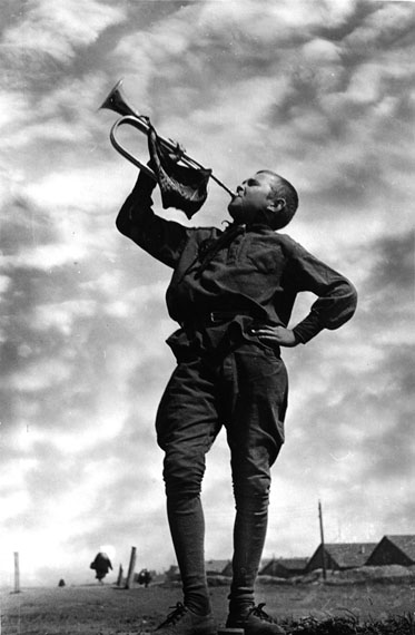 Emmanuil Evzerikhin. Trumpeter, 1934