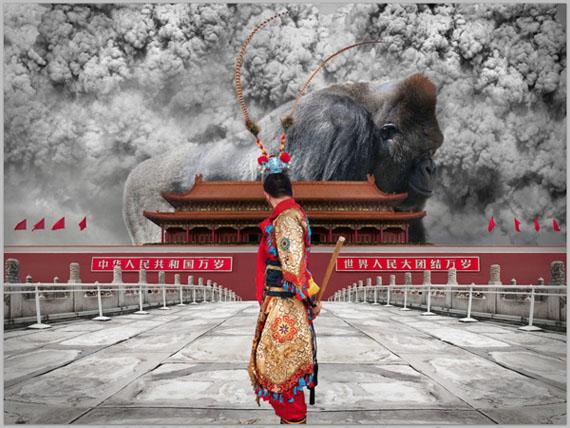 2011: NOW_ing, 120cm x 160.6cm © CHI Peng