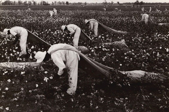 Cotton pickers, Ferguson, 1968 ©Danny Lyon/Courtesy of Edwynn Houk Gallery, New York