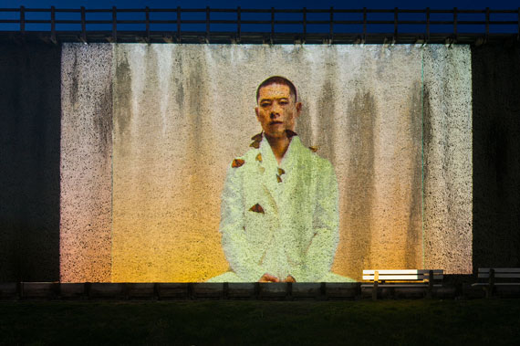 """Robert Wilson: """"Video Portraits"""", 2004 - 2015Photo: Franz Wamhof"""