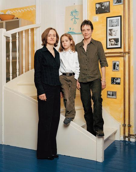 Verena Jaekel: Berlin, 19.11.2005 (aus der Serie Neue Familienportraits - New Family Portraits)
