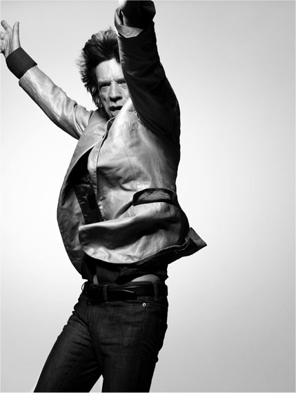 Mick Jagger, New York, 2008 – 140 x 105 cm – Edition 6/7 ©  Bryan Adams