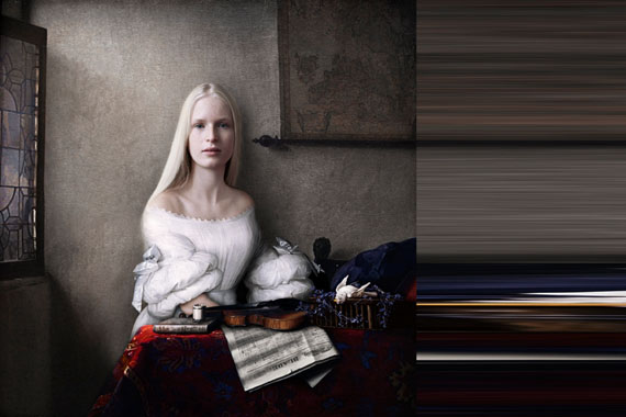Sabine Pigalle: Vermeer Einsle Harnett, 2015, Diptych, 120 cm x 120 cm and 120 cm x 60 cm / Edition 1/3 © Sabine Pigalle, courtesy wildprojectgallery