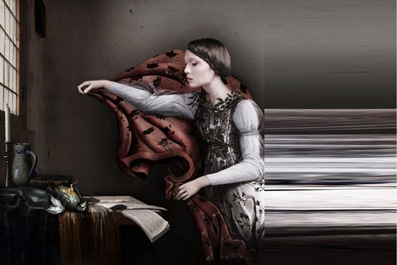 Sabine Pigalle: Vermeer Botticelli, 2015, Diptych, 120 cm x 120 cm and 120 cm x 60 cm / Edition 1/3 © Sabine Pigalle, courtesy wildprojectgallery