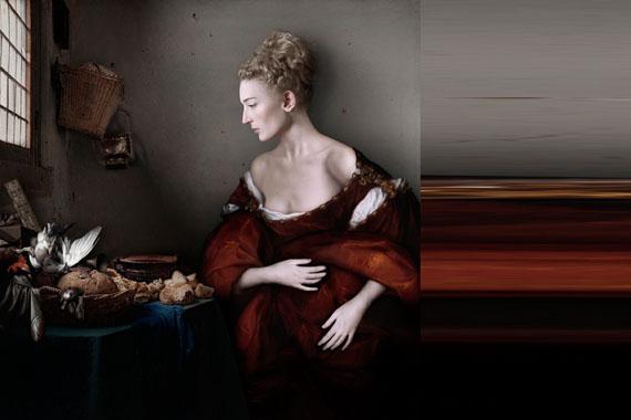 Sabine Pigalle: Vermeer Van Dyck, 2015, Diptych: 120 cm x 120 cm and 120 cm x 60 cm / Edition 1/3 © Sabine Pigalle, courtesy wildprojectgallery