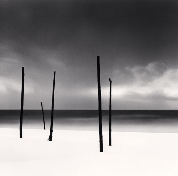 Michael Kenna: Five Poles, Tomamae, Hokkaido, Japan, 2004 © Michael Kenna