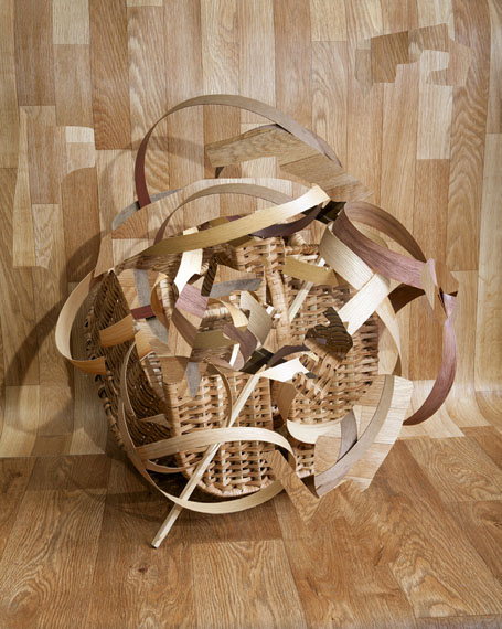 Veneer with Basket, 2015 © Nico Krijno/The Ravestijn Gallery