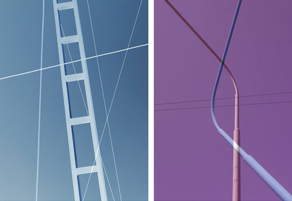 Hans Peter Riegel | Upsides 301 (left) & 241 (right), 2015 | Archival Pigment Print | 110 x 145 cm | Edition 3 & 2AP