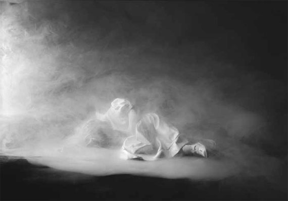 Laurence Demaison: Dans les nuages N°5, 2013Gelatin silver print mounted on aluminium, 45 x 61 cm, edition of 7© Laurence Demaison, Courtesy Galerie Esther Woerdehoff