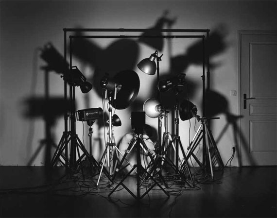 Laurence Demaison: Le studio, 2011Gelatin silver print mounted on aluminium, 42 x 53 cm, edition of 7© Laurence Demaison, Courtesy Galerie Esther Woerdehoff