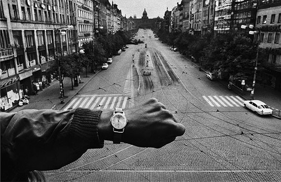 Invasion by Warsaw Pact troops. Prague, Czechoslovakia, August 1968