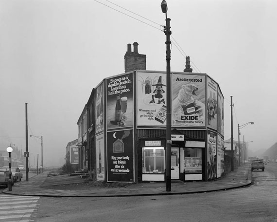 Chris Killip: Shopfronts, Huddersfield, 1974